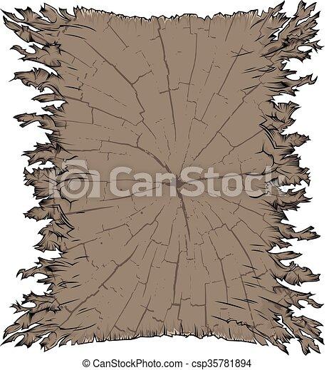 papier, vieux, textured, parchemin - csp35781894