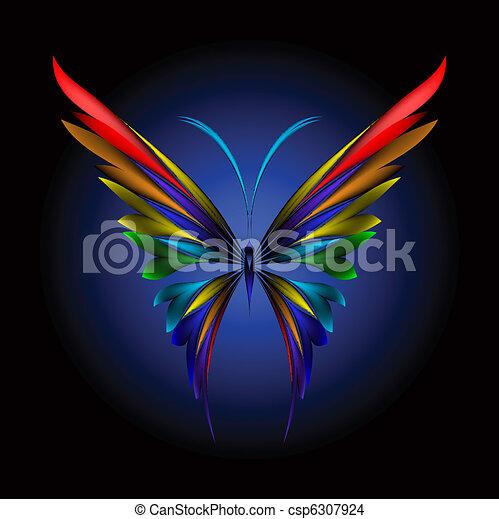 papillon, simplement - csp6307924