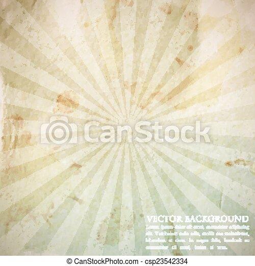 Abstract Vintage Hintergrund mit grunge Karton Textur - csp23542334