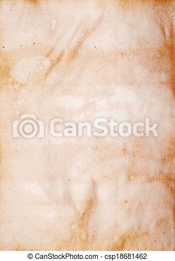 papper, gammal - csp18681462