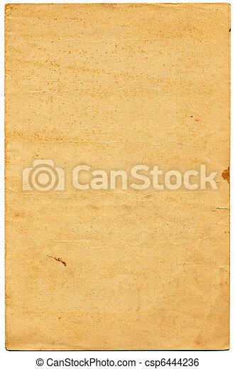 papper, gammal - csp6444236