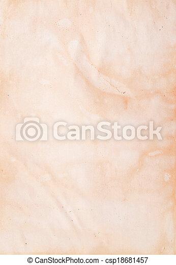 papper, gammal - csp18681457