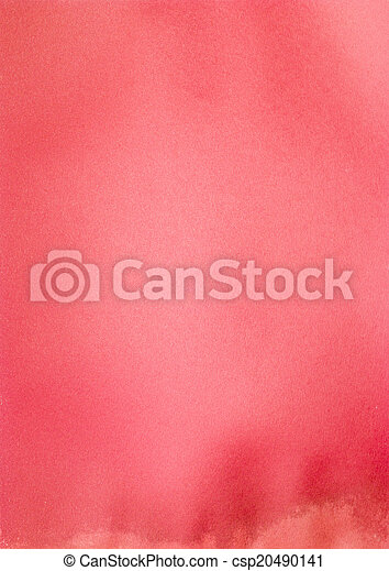 papper, röd - csp20490141