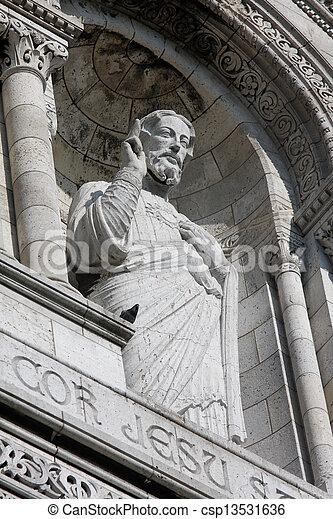 Sacre coeur, paris - csp13531636