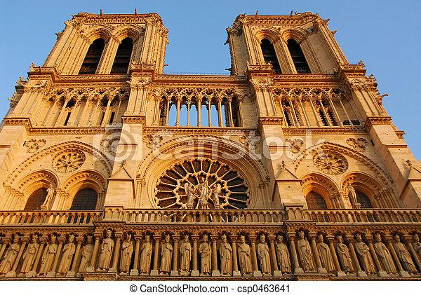 Notre Lady de Paris - csp0463641