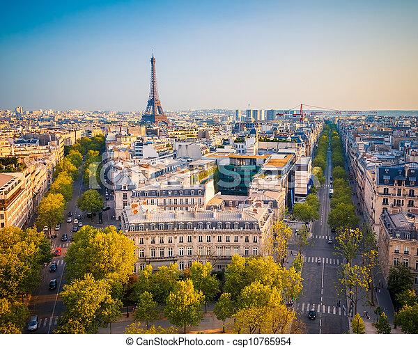 Ver París al atardecer - csp10765954