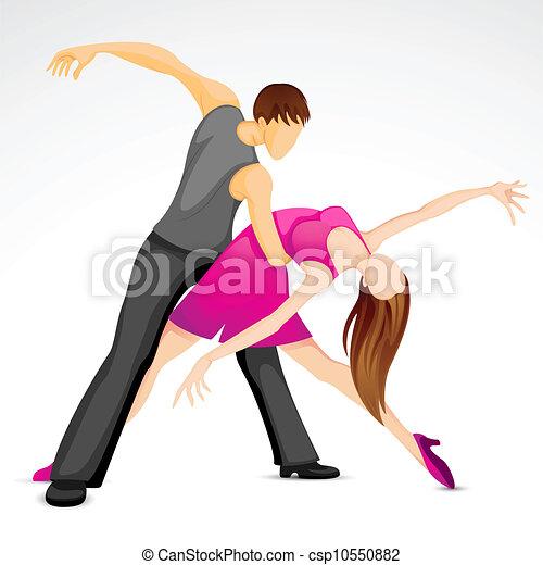 par dançando - csp10550882