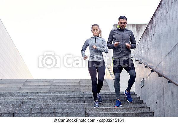 par, downstairs, andar, estádio - csp33215164