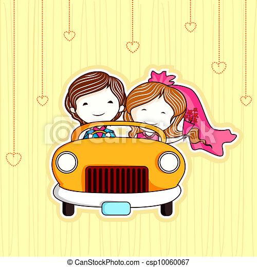 par, gift, retfærdig - csp10060067