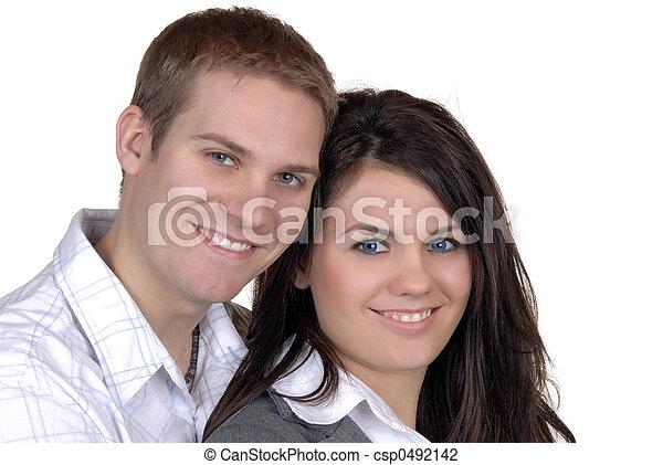 par, jovem - csp0492142