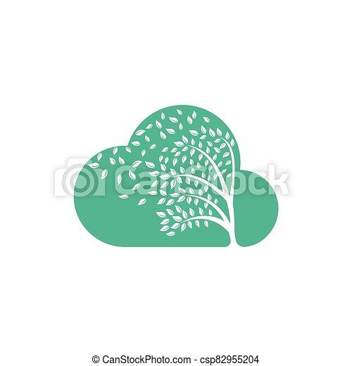 par, leafs., souffler, vent - csp82955204