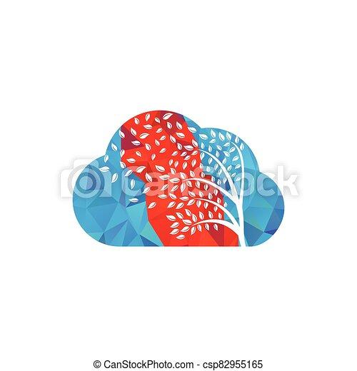 par, leafs., souffler, vent - csp82955165