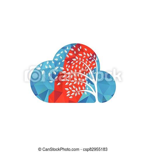 par, leafs., souffler, vent - csp82955183