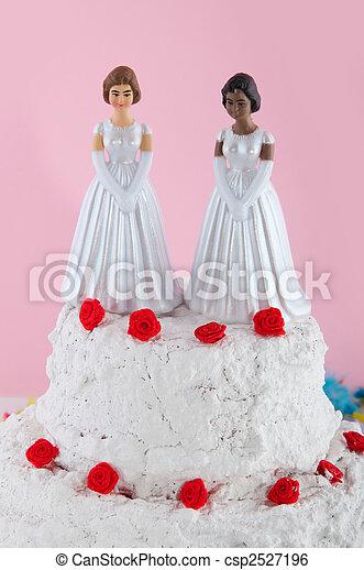 sorte lesbiske bryllupper