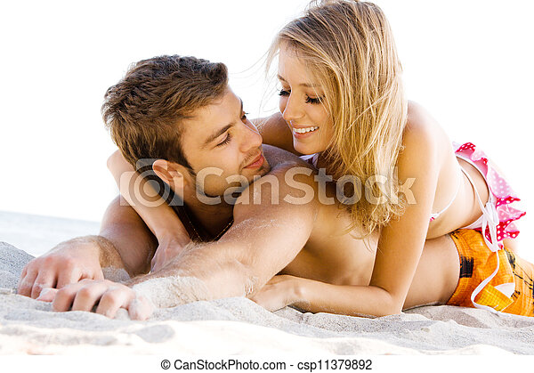 par, litoral, romanticos - csp11379892