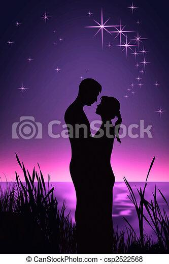par, romanticos - csp2522568