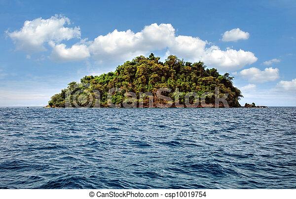 El paraíso tropical - csp10019754
