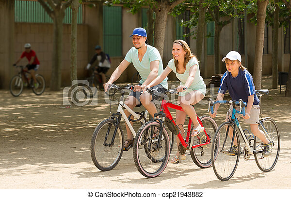 para, bicycles, syn - csp21943882