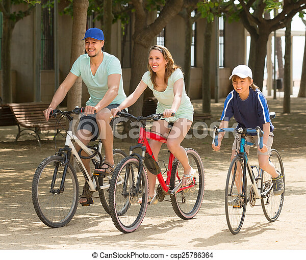 para, bicycles, syn - csp25786364