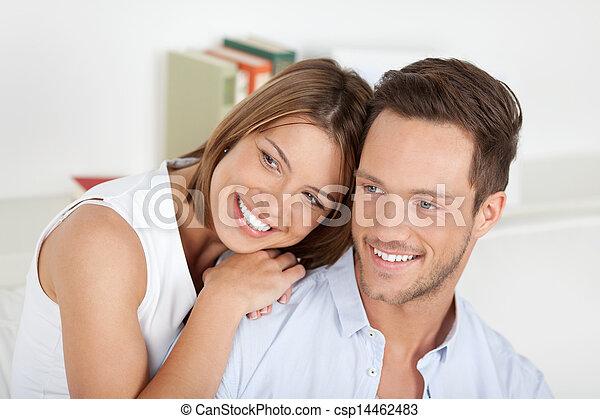para, młody, szczęśliwy - csp14462483