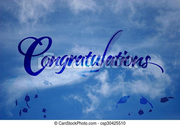 parabéns, graduação - csp30425510