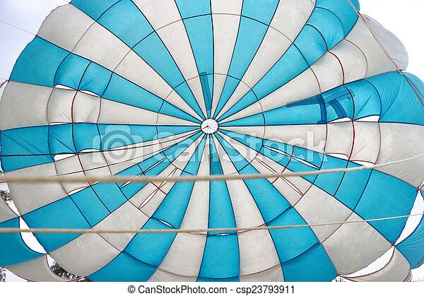 parachute, intérieur, vue - csp23793911