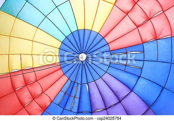 parachute, intérieur, vue - csp24028784