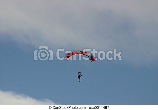 Parachutist - csp0011497