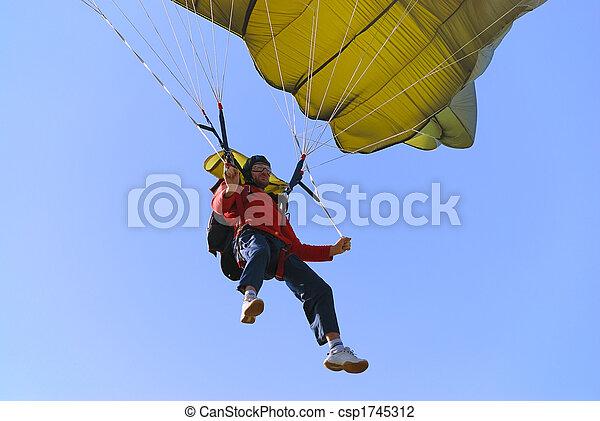 Parachutist - csp1745312