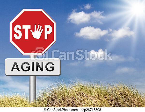 Deja de envejecer - csp26716808