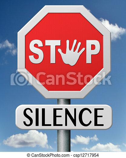 Para el silencio - csp12717954