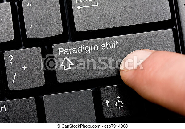 Paradigm shift - csp7314308