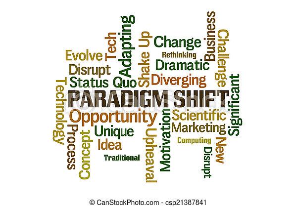 Paradigm Shift - csp21387841