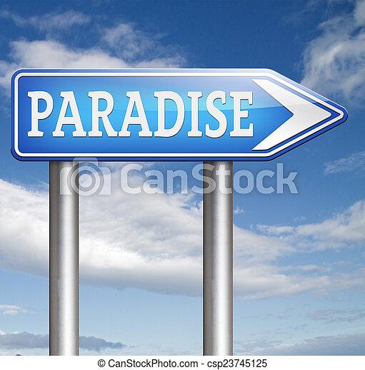 paradise - csp23745125
