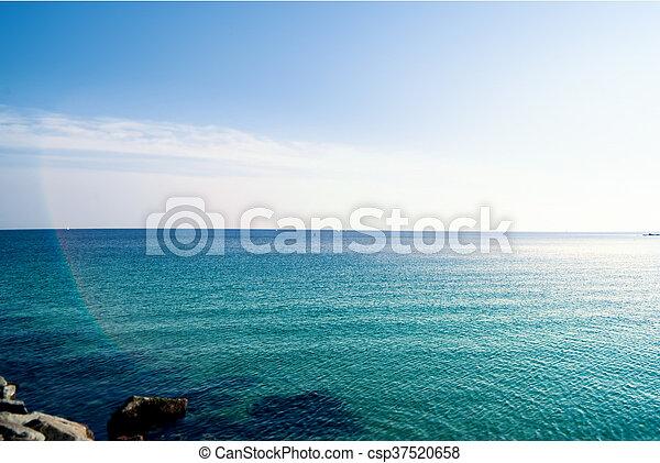 Paradise Tropical Wallpaper Sea View Barcelona Beach