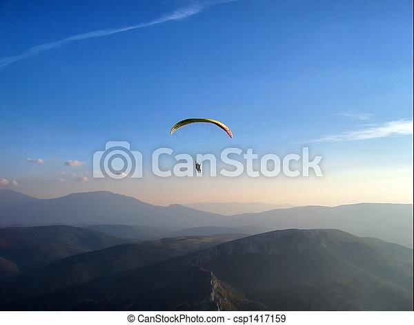 paraglider - csp1417159