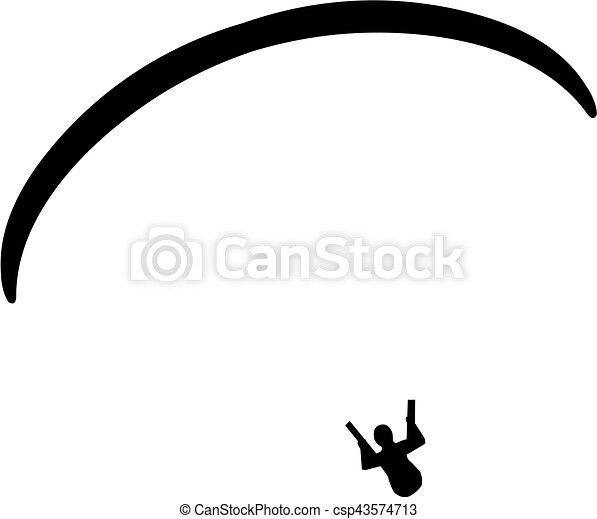 Paragliding - csp43574713