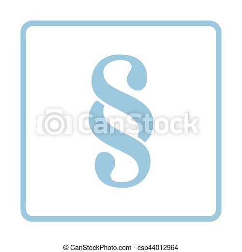 Paragraph symbol icon - csp44012964