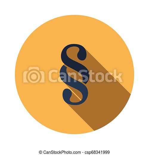 Paragraph symbol icon - csp68341999