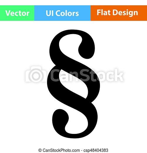 Paragraph symbol icon - csp48404383