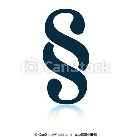 Paragraph symbol icon - csp68844948