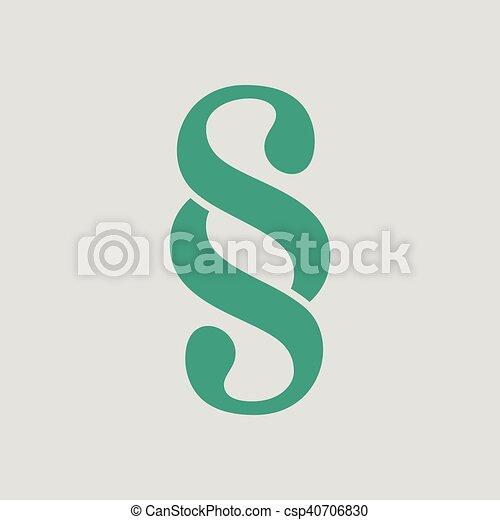 Paragraph symbol icon - csp40706830