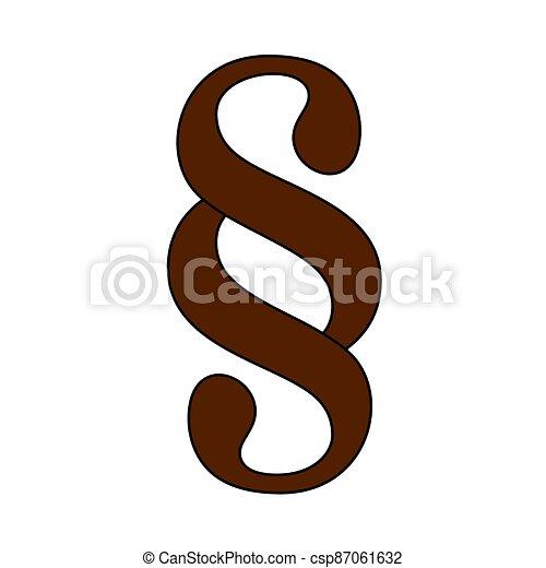 Paragraph Symbol Icon - csp87061632