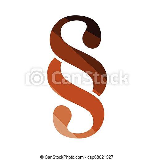 Paragraph symbol icon - csp68021327