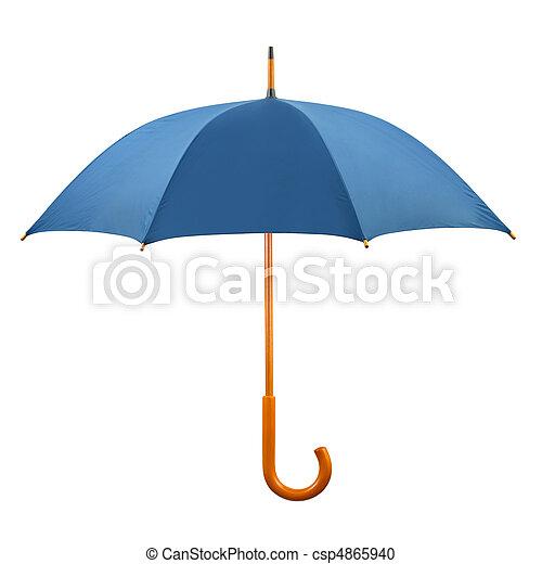 Un paraguas abierto - csp4865940