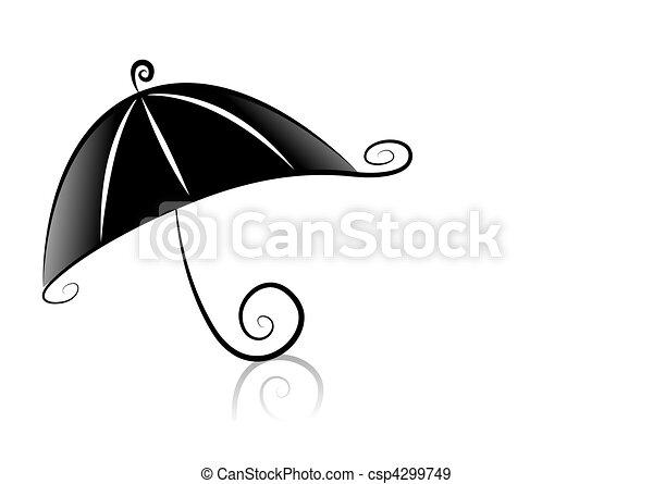 Umbrella - csp4299749