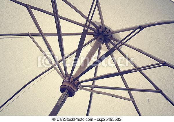 Sombrilla de playa - csp25495582