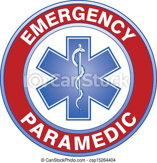 Diseño médico paramédico - csp15264404