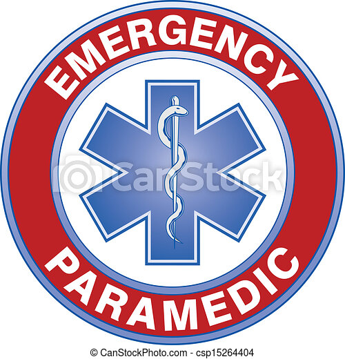 paramedic medical design illustration of an emergency paramedic rh canstockphoto ca paramedic log book paramedic logo clipart