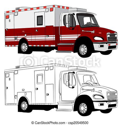Paramedic Vehicle - csp20549500